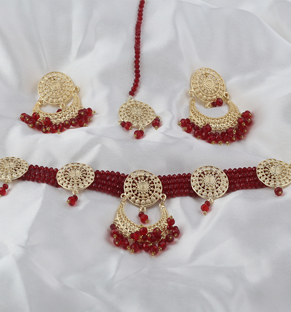 Artificial Bridal Jewellery Set Design 2021 (PS-266) Gallery Image 3