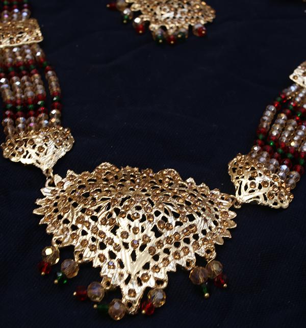 HIT Hyderabadi Bridal Heavy Jeweler Sets DESIGN 2021 (PS-270) Gallery Image 2