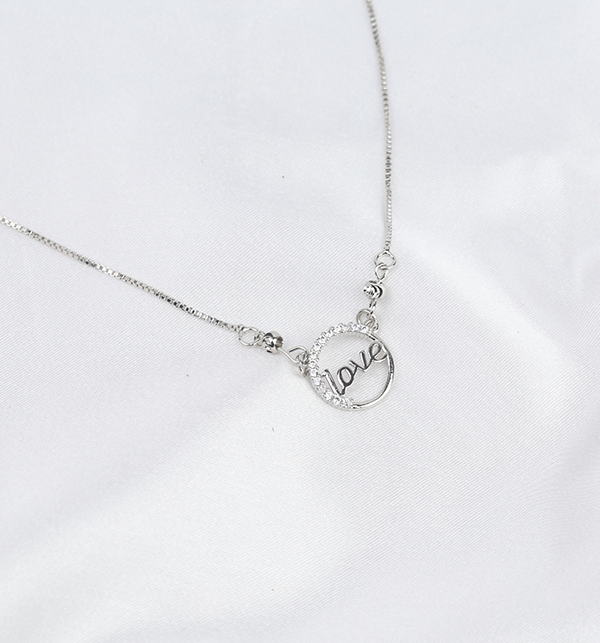 Silver Love Pendant For Her (PS-278) Gallery Image 1