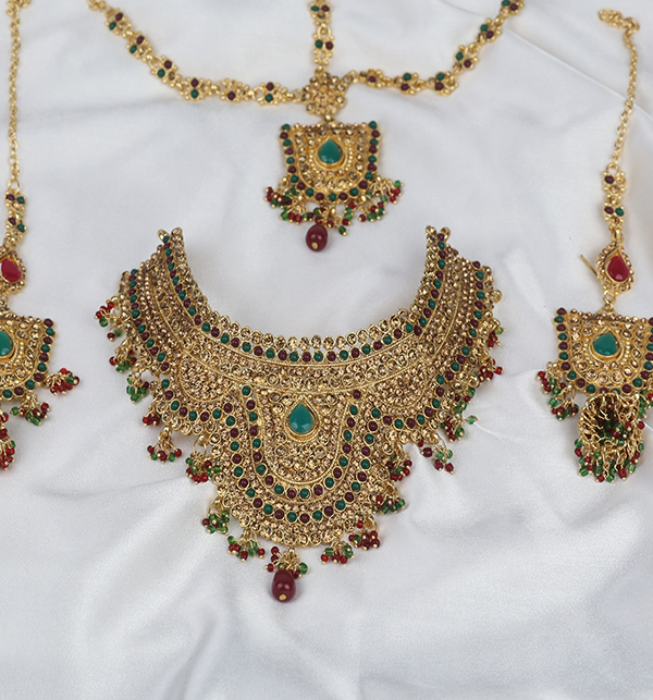 Wedding Jewellery Designs For Women  (PS-281) Gallery Image 3