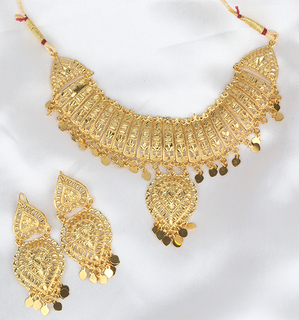 Indian Jewelry Set For Girls Latest Design Necklace 2021 (PS-290) Gallery Image 2