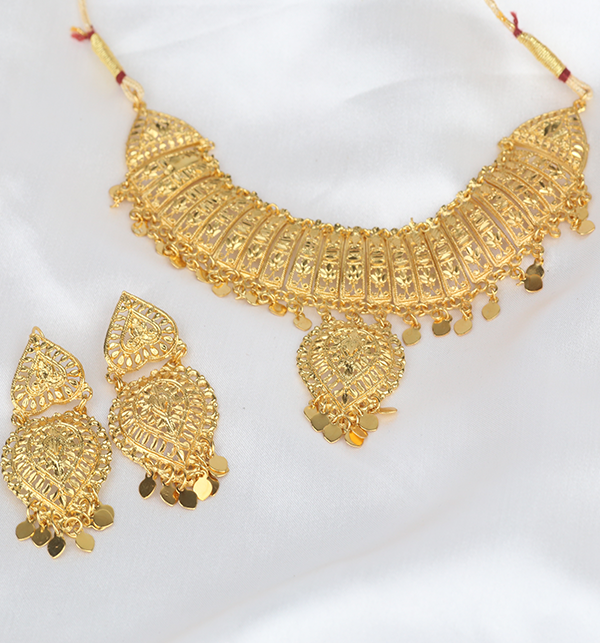 Indian Jewelry Set For Girls Latest Design Necklace 2021 (PS-290) Gallery Image 3