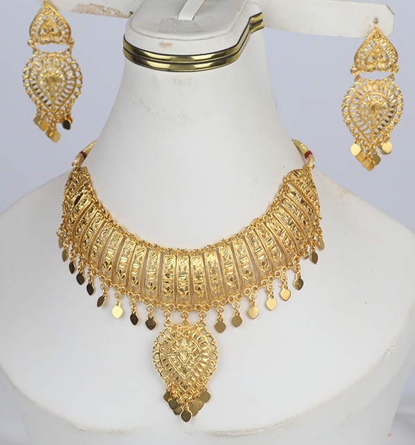 Indian Jewelry Set For Girls Latest Design Necklace 2021 (PS-290) Gallery Image 4