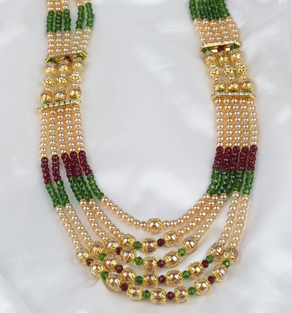 Beauliful Multi Color MALA For Women (PS-298) Gallery Image 1
