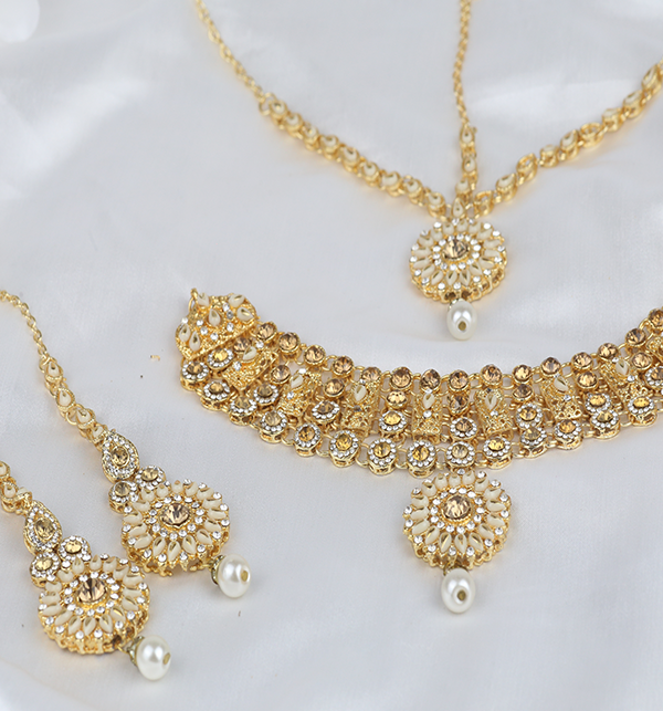 Indian Jewelry Set For Girls Latest Design Necklace 2021 (PS-303) Gallery Image 1