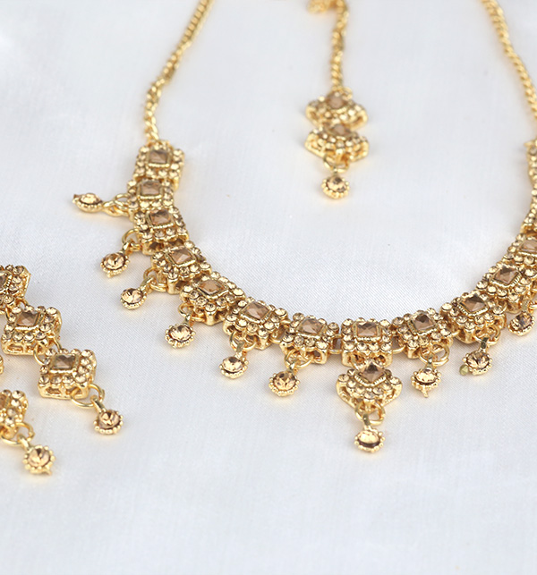 Stylish Necklace Set For Girls (PS-309) Gallery Image 1