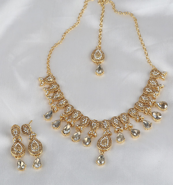 Beautiful Necklace with Earrings (PS-311) Gallery Image 1