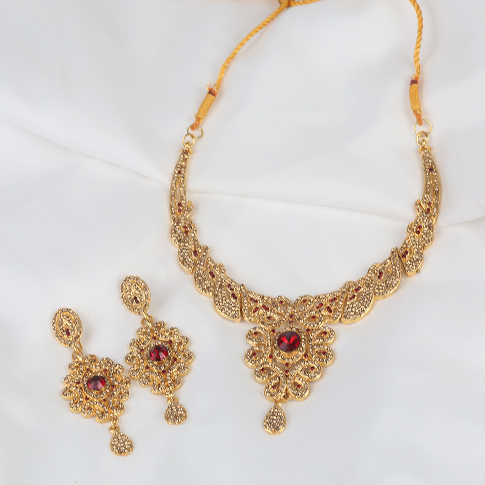 Bridal Artificial Jewellery Sets Design 2021 (PS-314) Gallery Image 1