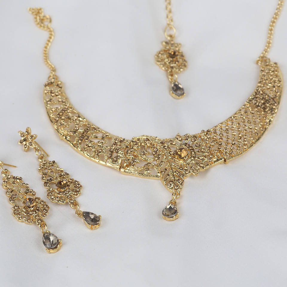 Latest Indian Jewelry Necklace  Set For Girls (PS-326) Gallery Image 1