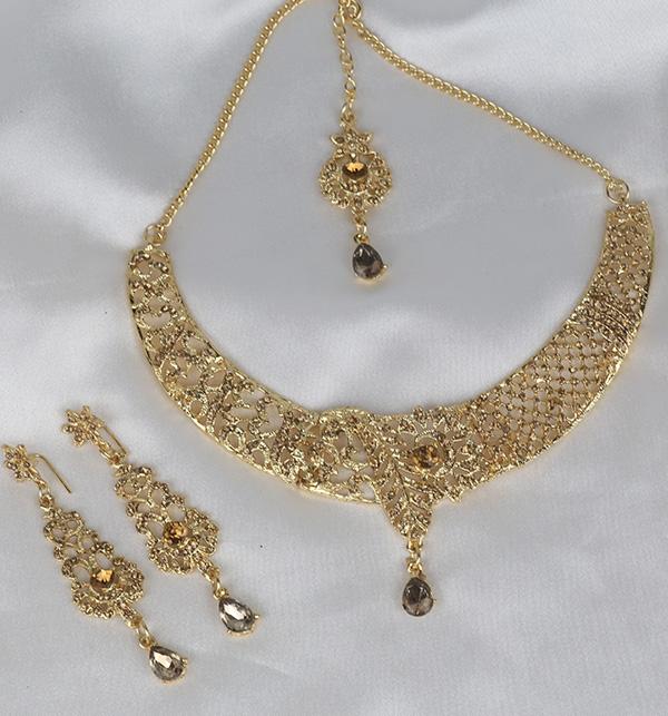 Stylish Women Necklace jewelary Set  (PS-337) Gallery Image 1