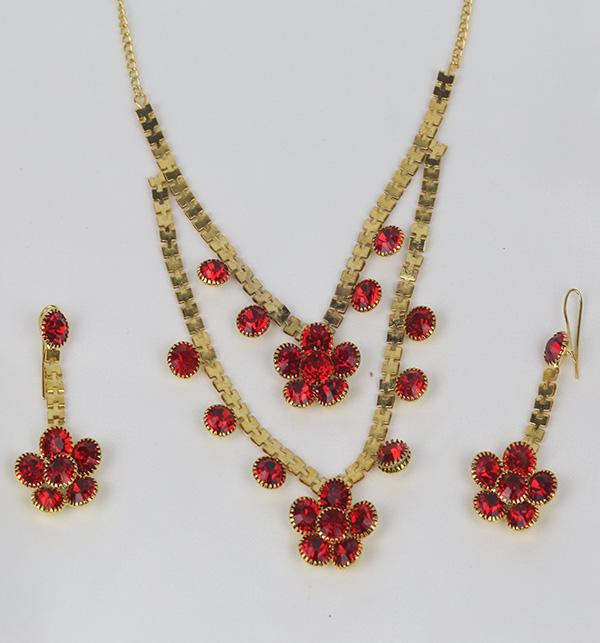Turkish Golden Jewelry Set Design For Women (PS-363) Gallery Image 1
