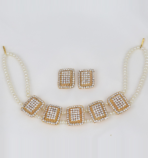 White Pearl Jewelry Sets (PS-366) Gallery Image 1