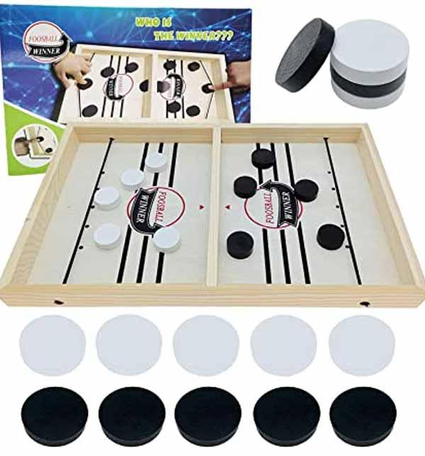 Kids Offer - Fast Sling Foosball Puck Game Board Game Gallery Image 1