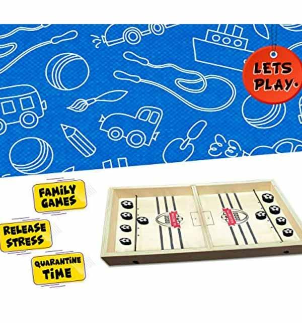 Kids Offer - Fast Sling Foosball Puck Game Board Game Gallery Image 2