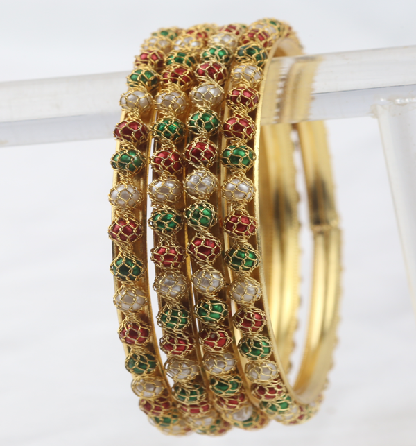 Multicolor Bangles for Girls (BH-71) Gallery Image 1