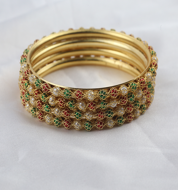 Multicolor Bangles for Girls (BH-71) Gallery Image 2