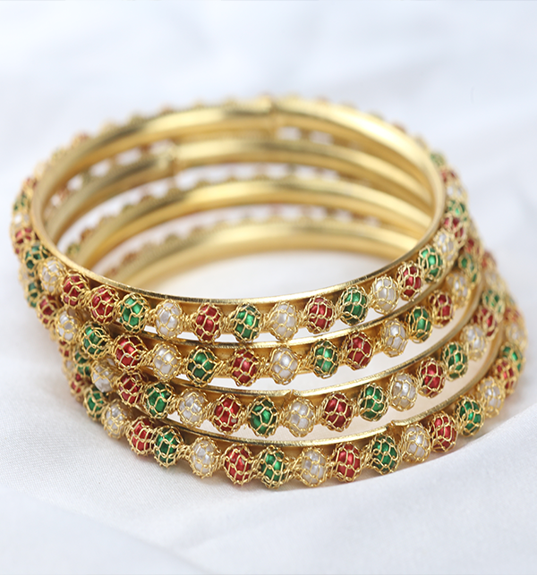 Multicolor Bangles for Girls (BH-71) Gallery Image 3
