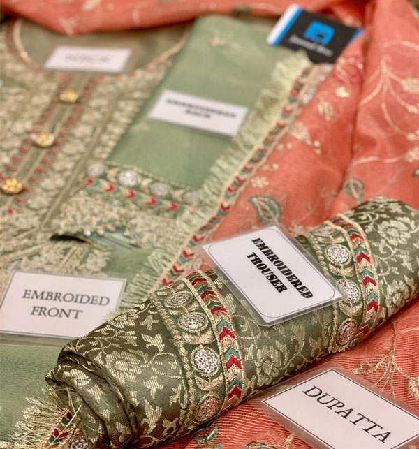 Hit  Mysoori Heavy Wedding Embroidered Collection With Net Embroidered Duppata (CHI-471) Gallery Image 3
