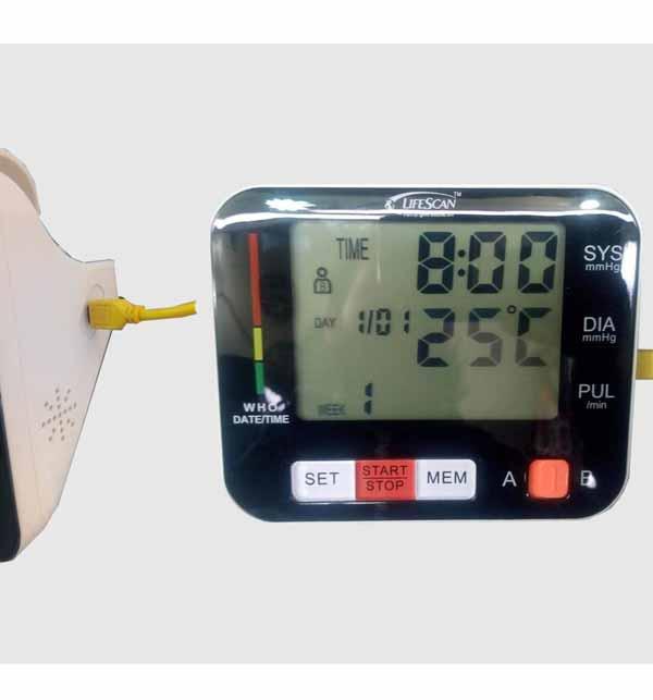 LifeScan Digital Blood Pressure Monitor M-20 Classic Gallery Image 1