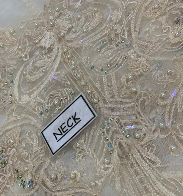 New Embroidered Chiffon Dress With Chiffon Net Dupatta (CHI-506) Gallery Image 2