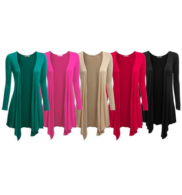 Pack of 5 Women's Jersey Cotton Shrug (Viscose Fabric)