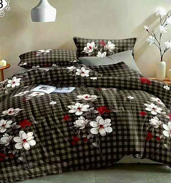 5D Digital HD Print Cotton Satin Bedsheets Online (BCP-42)
