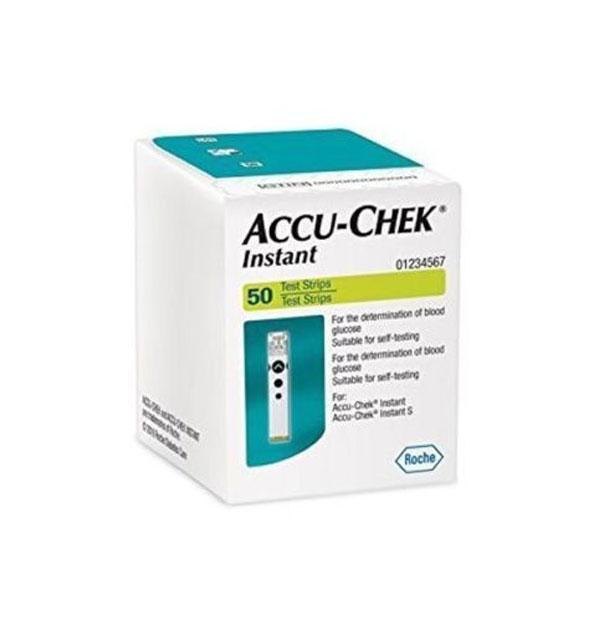 Accu-Chek Instant Test Strips for Blood Glucose - 50 Test Strip