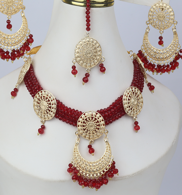 Artificial Bridal Jewellery Set Design 2021 (PS-266)