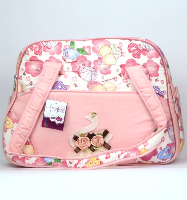 Baby Bag For Diaper & Accessories - Pink (HB-101)