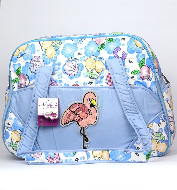 Sky Blue Baby Bag For Diaper & Accessories - (HB-102)