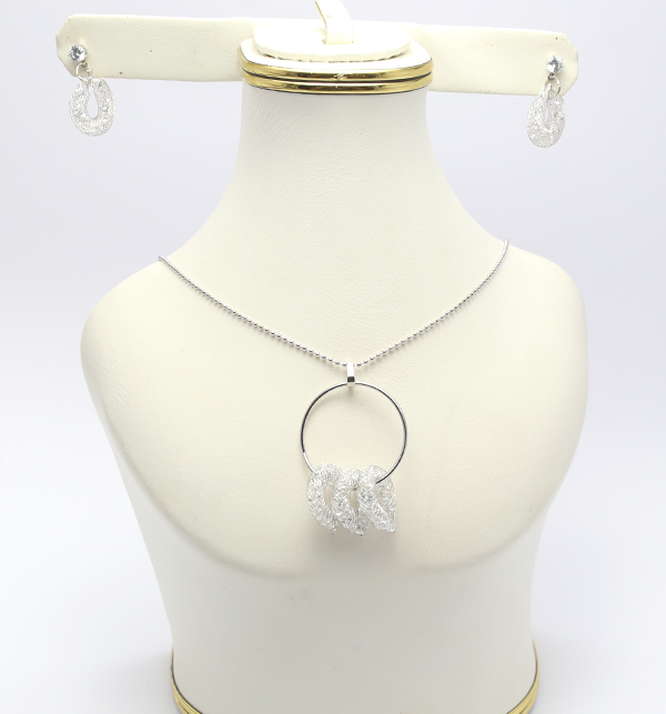 Beautiful Necklace with Earrings (PS-127)