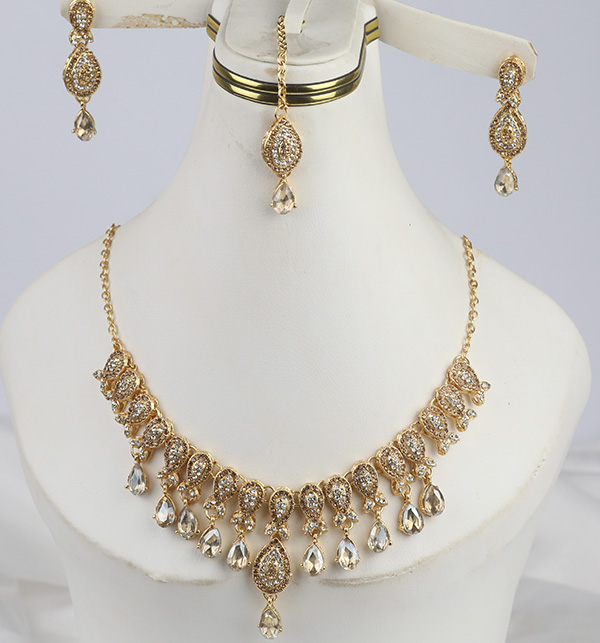 Beautiful Necklace with Earrings (PS-311)