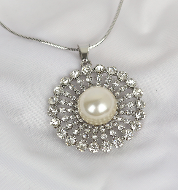 Beautiful Silver Necklace For Women (PS-203)