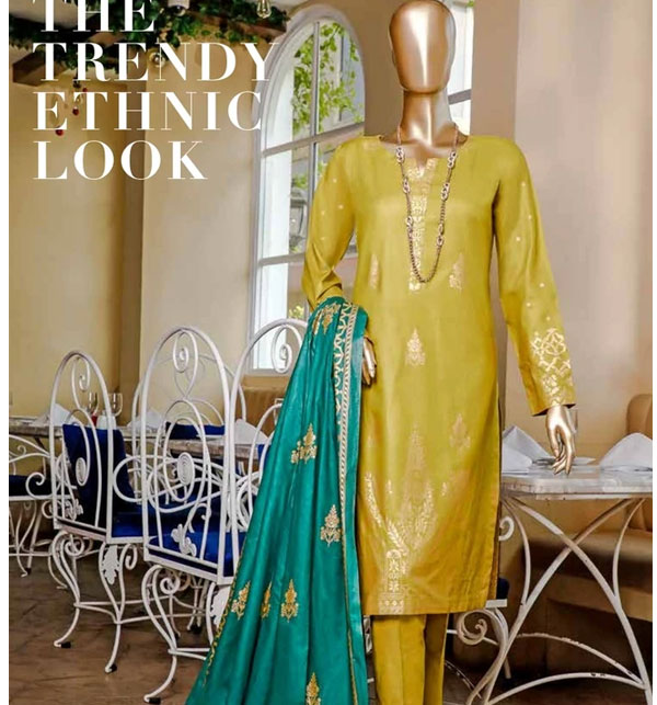 Block Print Banarsi Lawn Collection 2020 With Lawn Dupatta (MBP-03) (Unstitched)