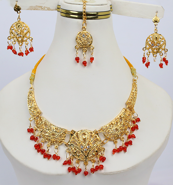 Bridal Artificial Jewelry Sets Design (PS-211)