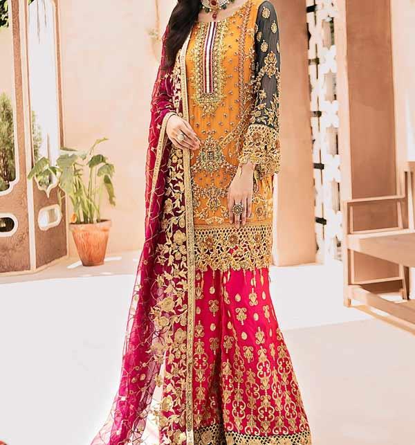 Bridal Collection Pakistani Wedding Dresses 2020 Suits Design Online