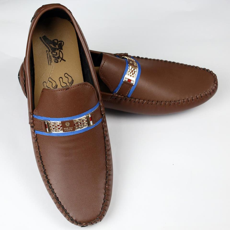 Brown Mens Casual Loafers Shoes (Size 7 to 10) (41 to 44)  (MS-12)