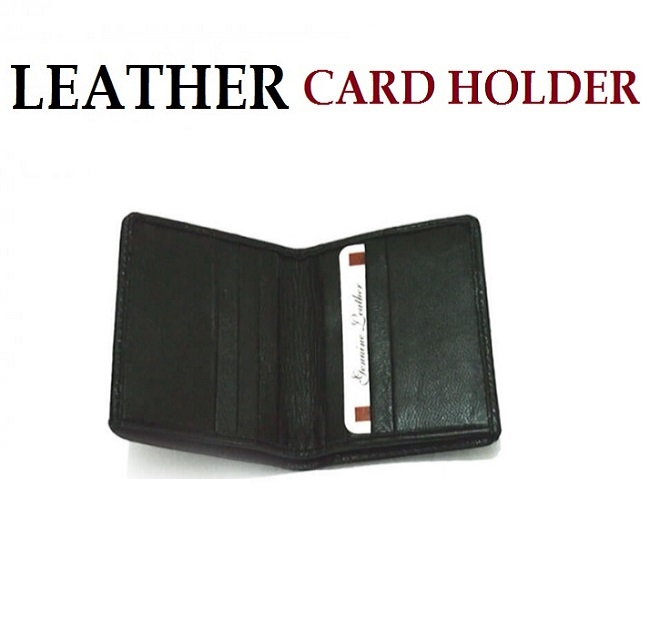 Business Leather Card Holder (W2)