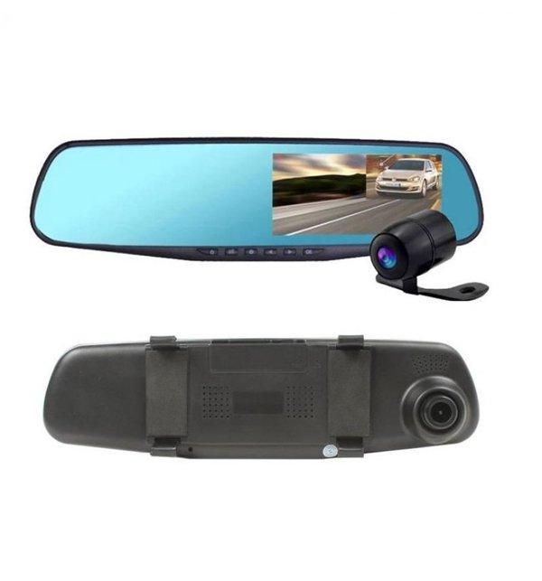 Car DVR Mirror DUAL Camera Front/Back 1080p