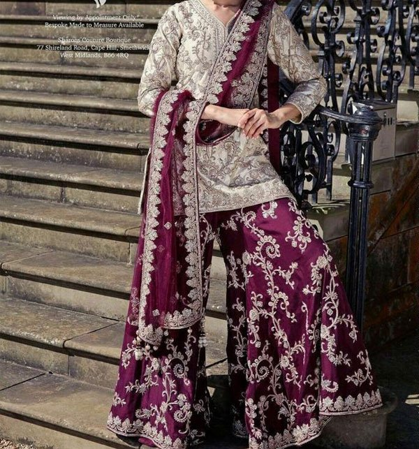 Heavy Full Embroidery Chiffon Suit (Unstitched) (CHI-207)