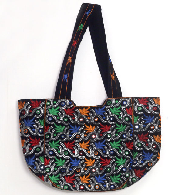 Sindhi Style Embroidered HandBags For Ladies (HB-55)