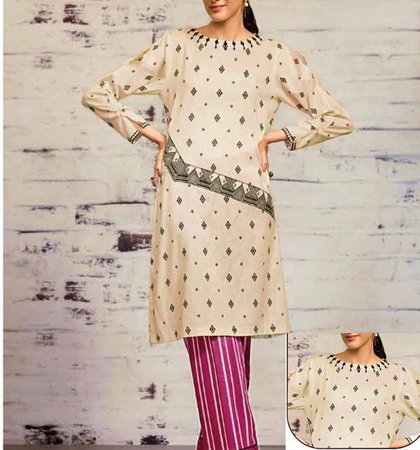Lawn Full Heavy Embroidery Suit With Embroidered Trouser (Unscathed) (DRL-713)