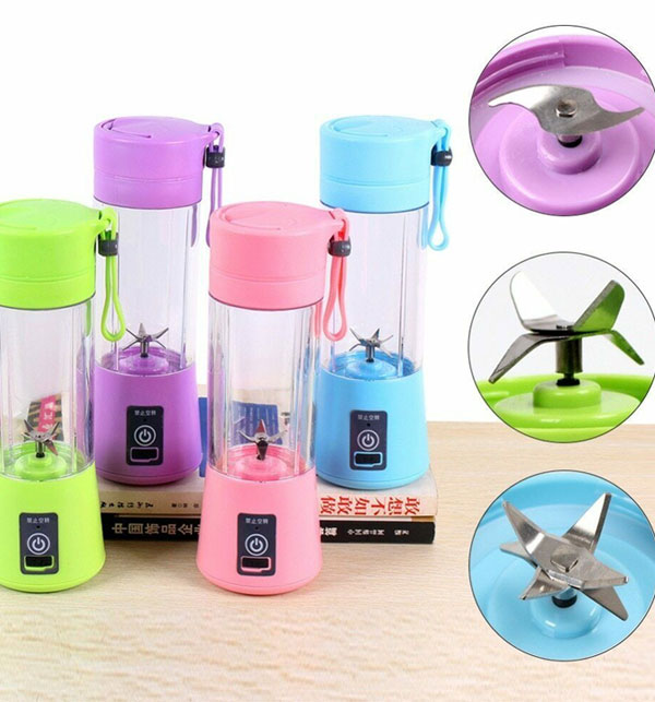 Easy Portable Rechargeable Juicer with Bottle