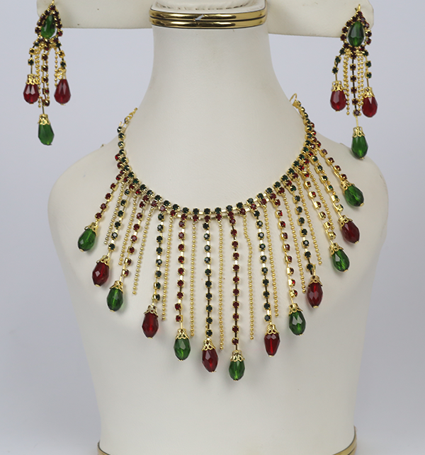 Beautiful Necklace Set With Earrings (PS-229)