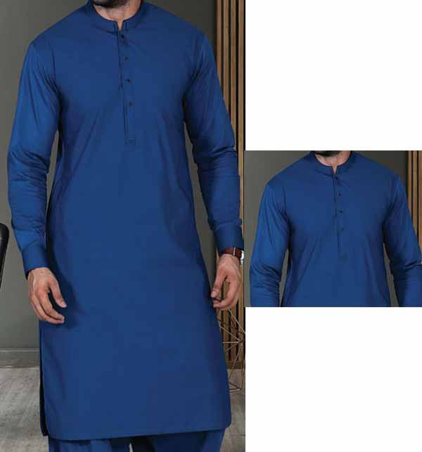 Wash n Wear Unstitched Men's Shalwar Kameez (MSK-81)