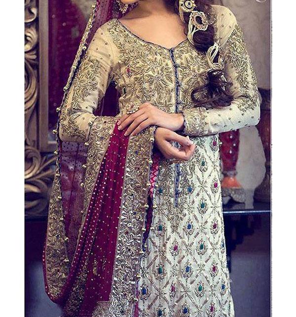 Simple Wedding Dresses 2018 Pakistani