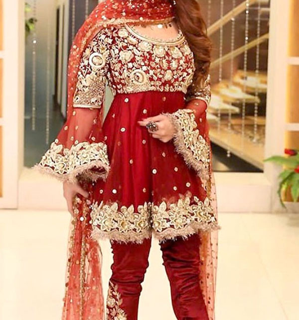 Embroidered Chiffon Suit With Embroidered Chiffon Dupatta 2017 (CHI-67)