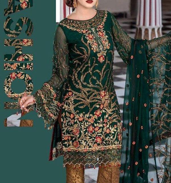 e3c133b8f0c36 Chiffon Dresses Collection 2019 Buy Online Pakistani Suits Chiffon  Embroidered