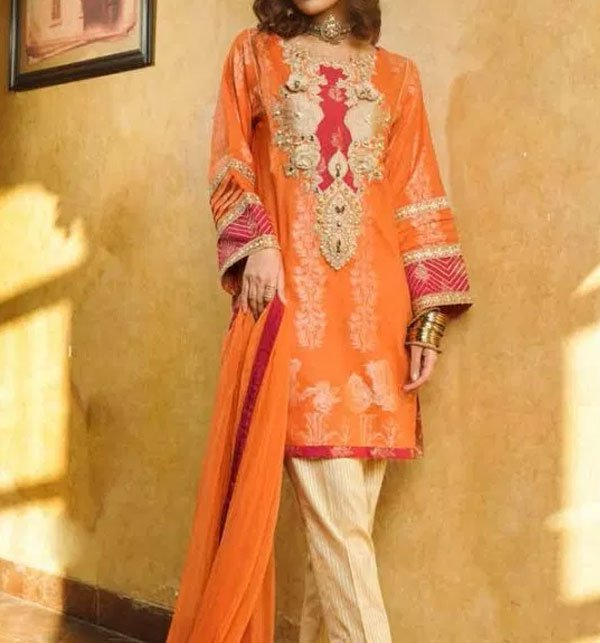 Umar Sayeed Lawn 2019 Summer Collection Latest Design