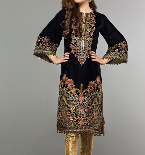 Embroidered LAWN Suit with Chiffon Dupatta (DRL-310) - UNSTITCHED FABRIC
